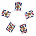 Queen's Diamond Jubilee Bunting, rectangular, 6 metre, official design.